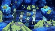 Capitulo 14 Temporada 15: ¡Crisis en la cueva electrorroca!