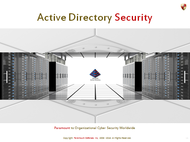 Defending Active Directory Against Active Directory Attacks