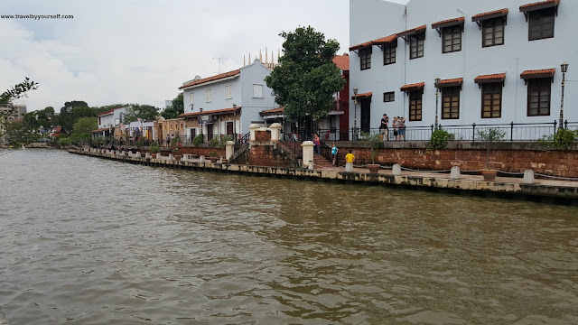 Malacca river at daytime