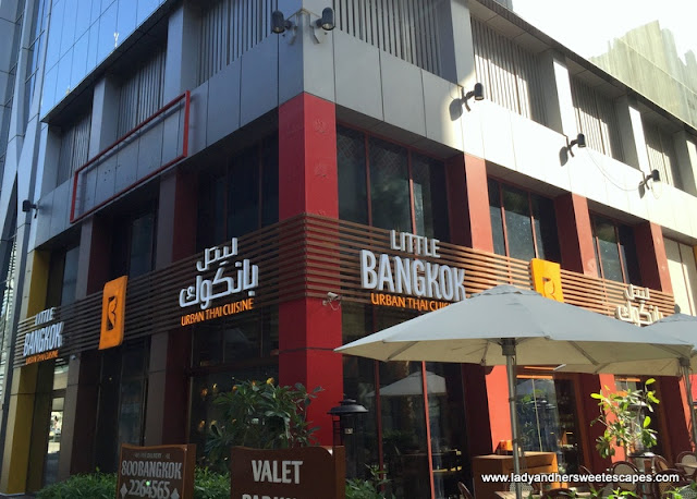 Little Bangkok UP Tower branch in Sheikh Zayed Road