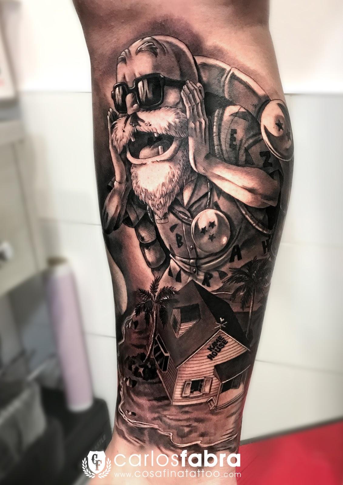 Tatuaje Bola De Drac Sfb