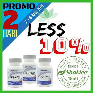 CoQ promotion; produk shaklee murah; produk shaklee promosi; shaklee labuan; shaklee promo; shaklee tawau; shaklee beaufort; shaklee sabah; shaklee kuching