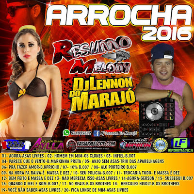 CD ARROCHA 2016 - DJ LENNON DO MARAJÓ 08/06/2016