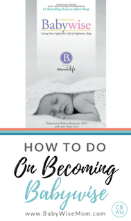 How To Do On Becoming Babywise. A full step-by-step guide written by the Babywise Mom.
