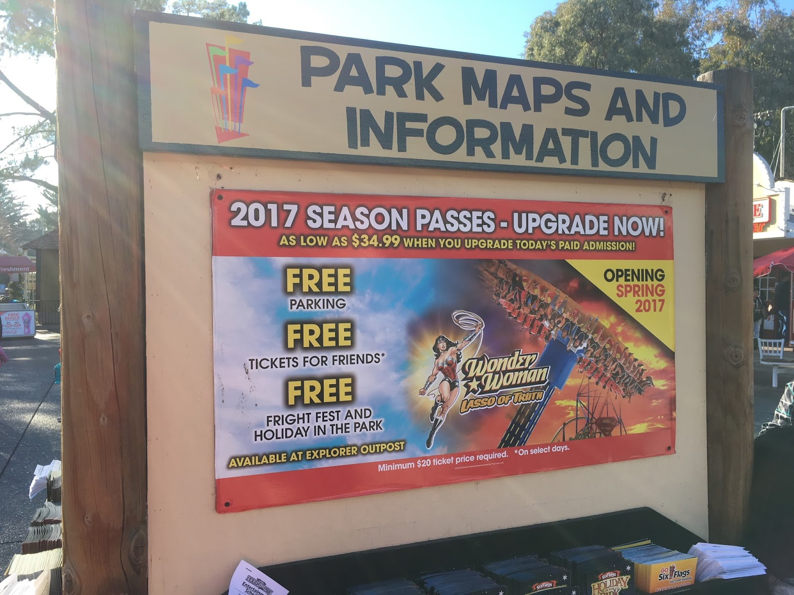 Six Flags Discovery Kingdom Winter Photo Trip Report - December 2016 ...