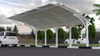 tenda membrane jakarta timur | tukang tenda membrane