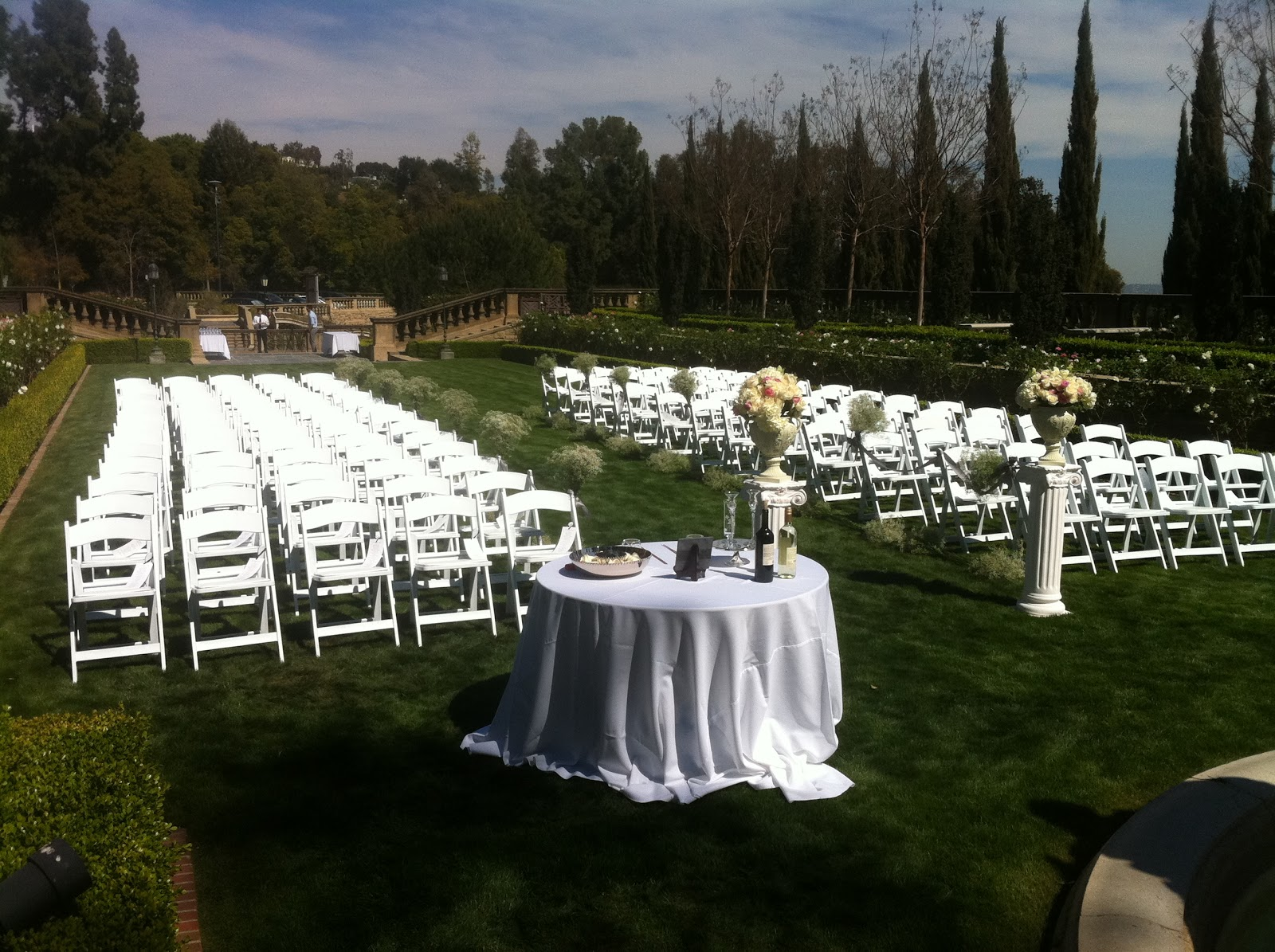 chair cover rental orland park hawthorne oversized sling chairs star event productions party rentals table tent