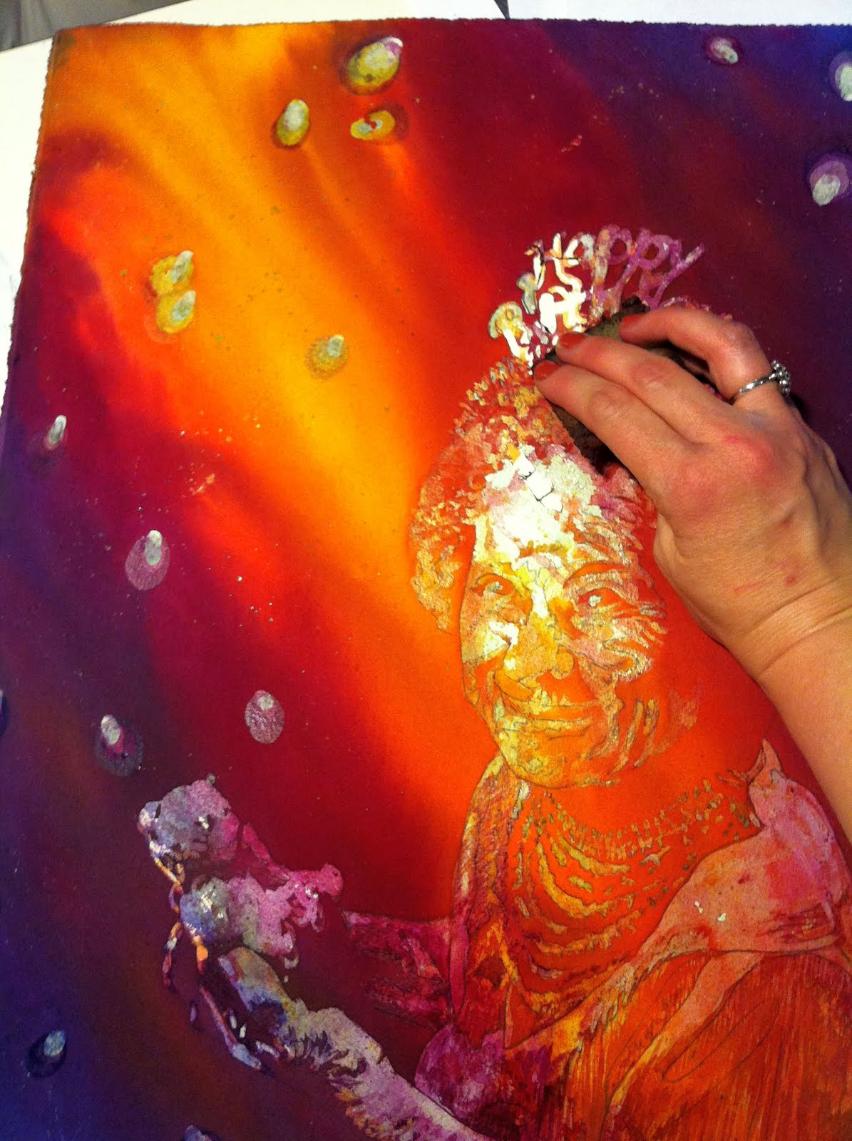 Starr Weems Art Blog Start To Finish Pouring Watercolor