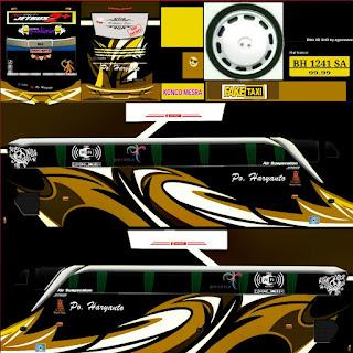 Download Livery Bus Po Haryanto Cokelat