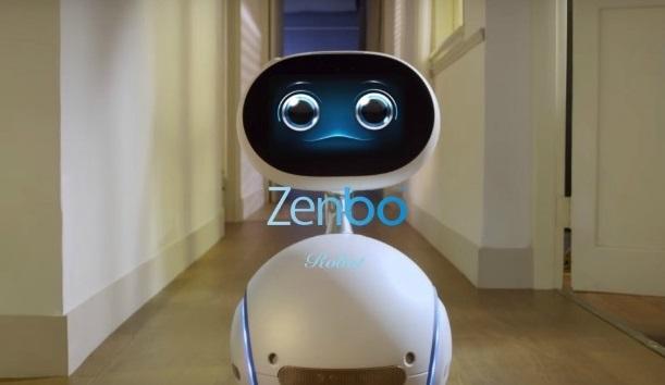 robot pembantu zenbo