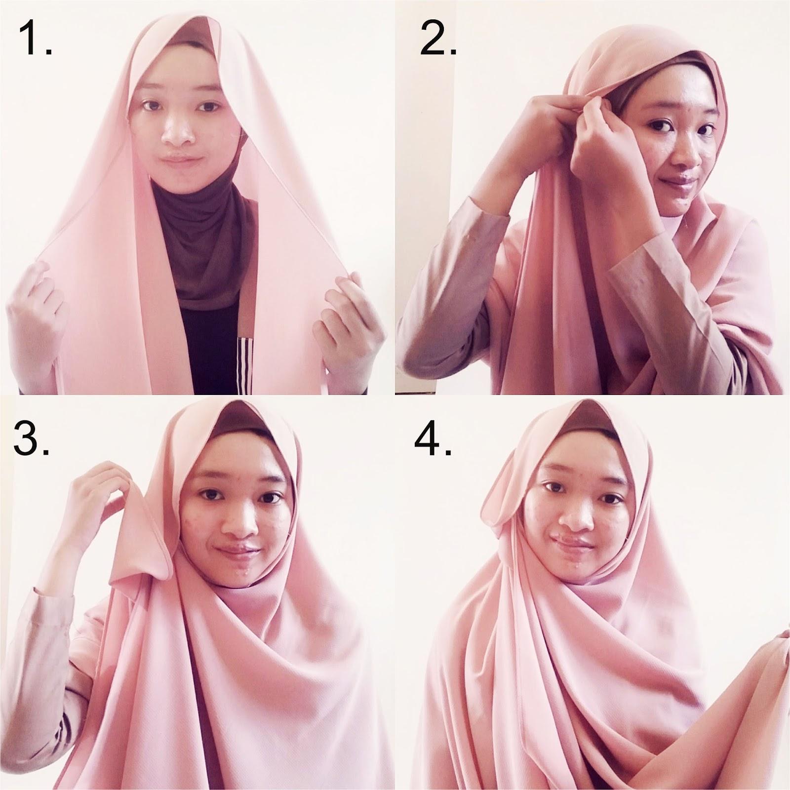 Trend Hijab Terbaru Untuk Bulan Ramadhan 2016 Kumpulan Contoh