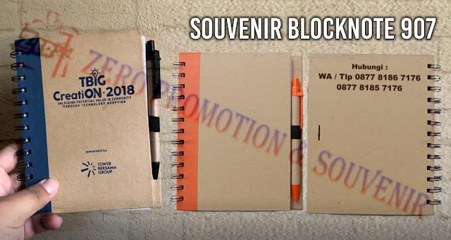 Souvenir Blocknote - Memo promosi 907