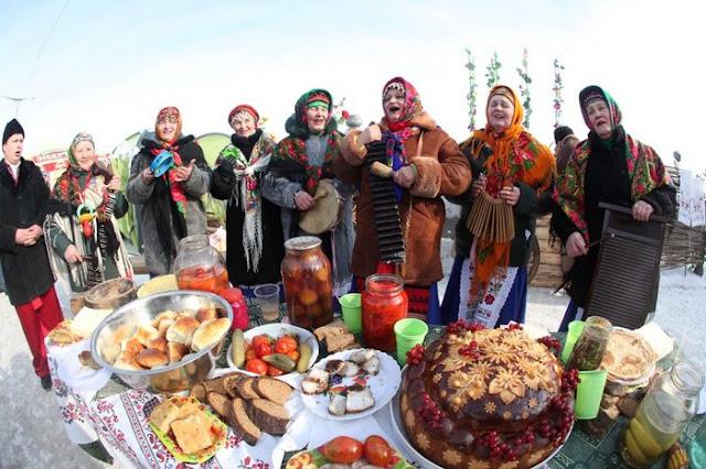 Miércoles, el día goloso en el festival de Máslenitsa