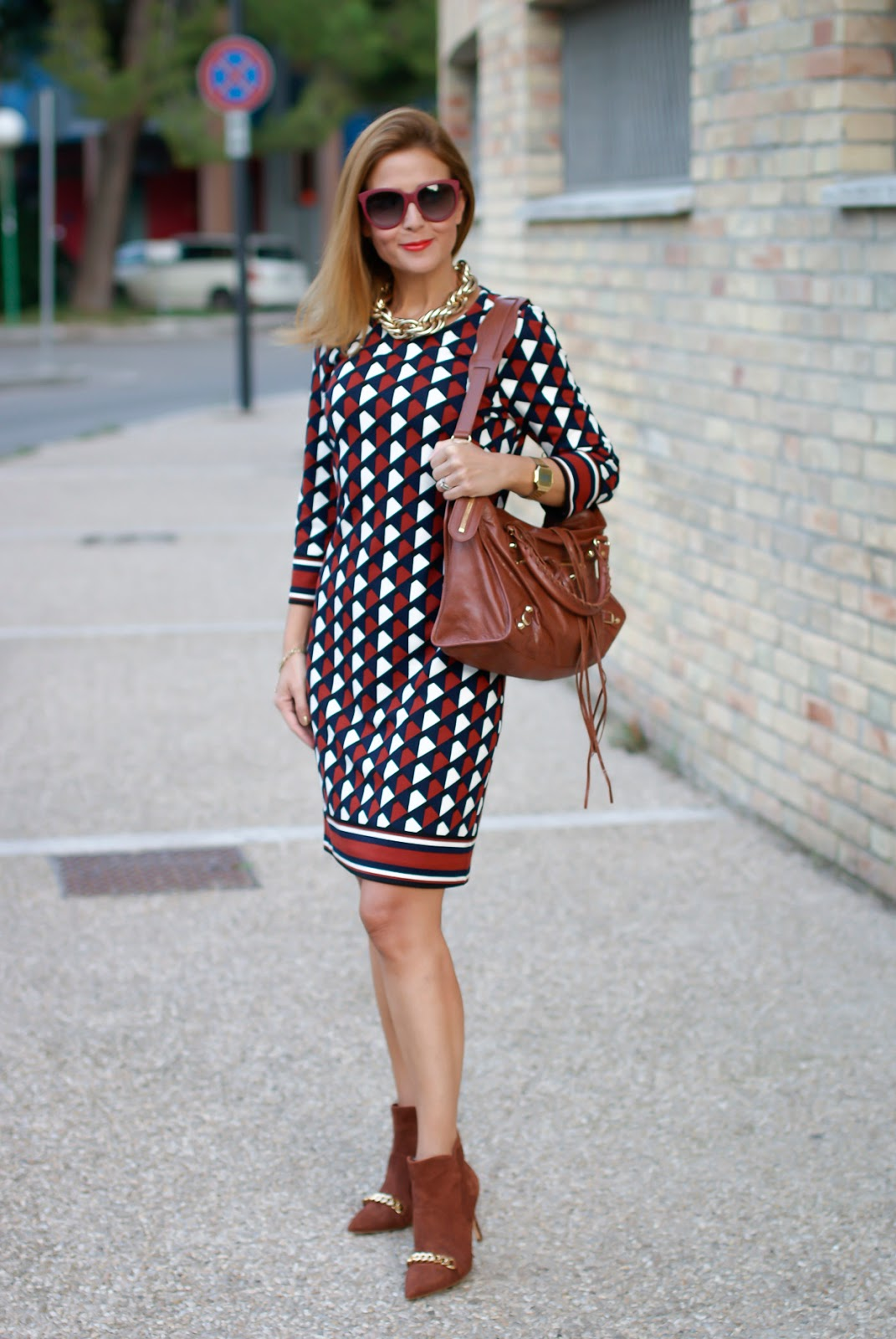 1.2.3 Paris Fall/Winter Delila dress on Fashion and Cookies fashion blog, fashion blogger style