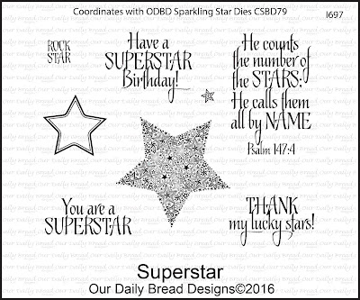 Our Daily Bread Designs Stamp Set: Superstar