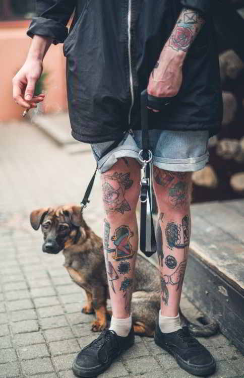 Tatuajes Para Hombres En La Pierna Pequenos