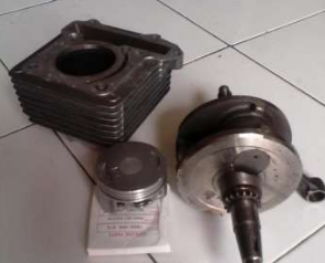PISTON DAN CRANK SHAFT