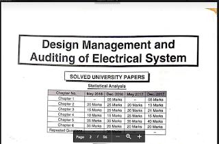 Mumbai University Sem 8 Electrical Notes & EASY Solutions