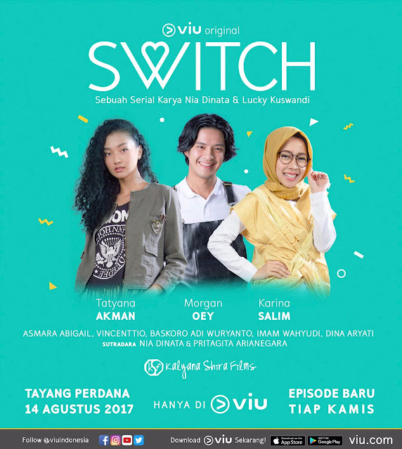 Viu Officially Releases Indonesian Original Series, SWITCH