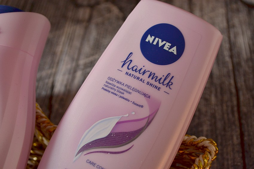 Nivea Hairmilk Natural Shine - odżywka