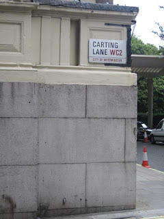Carting Lane. Farting Lane.
