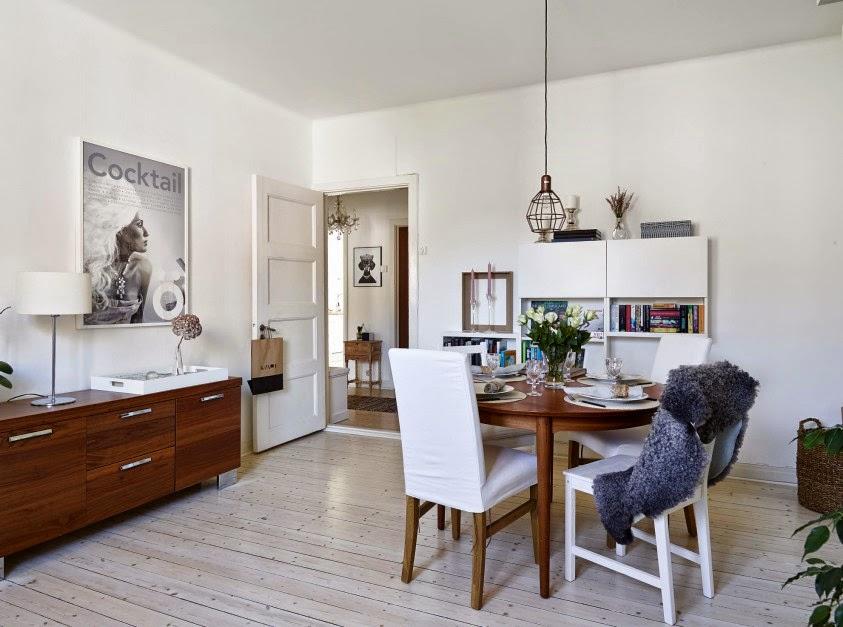 Bello interior de una casa acogedora decorada con encanto for Decoracion interior casa