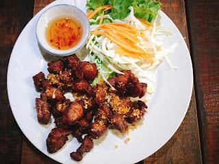 Fried Pork Meat