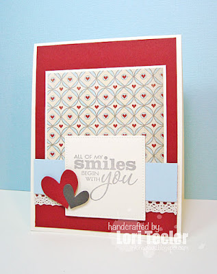 All of My Smiles card-designed by Lori Tecler/Inking Aloud-stamps from Verve Stamps
