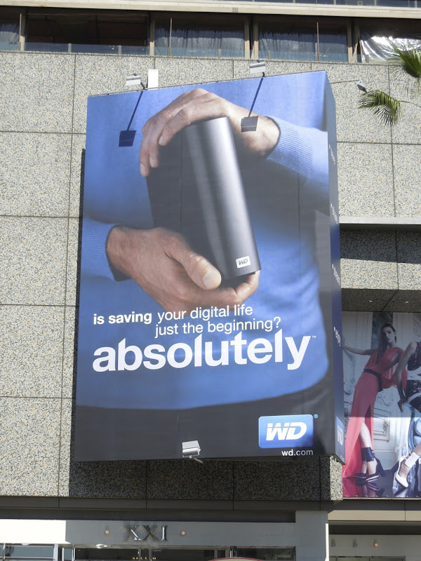 WD absolutely billboard