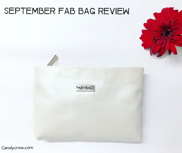 September 2017 Fab bag Review
