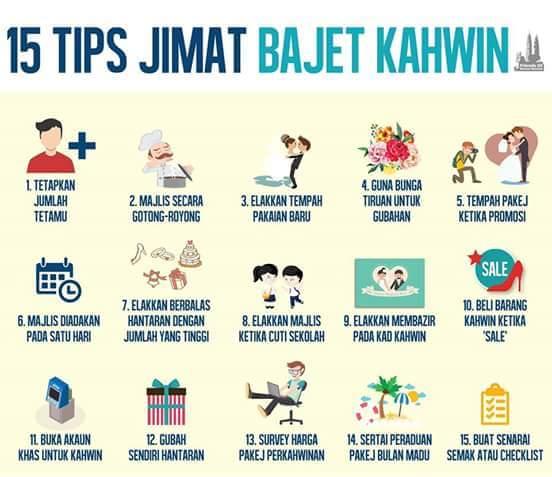 Tips Jimat Baget Kahwin