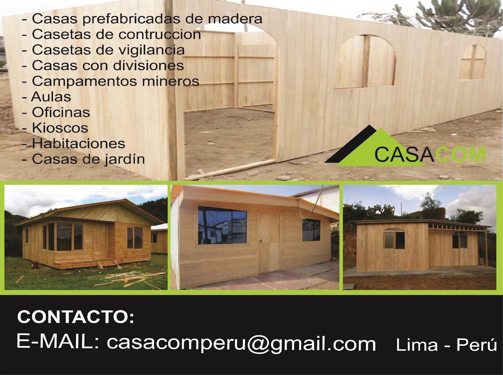 Casacom casetas prefabricadas de madera - Casetas prefabricadas para jardin ...