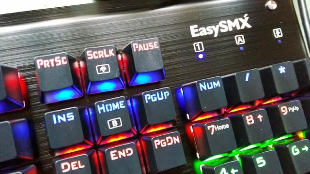 Gadget Explained: EasySMX Full Size Mechanical Keyboard UK