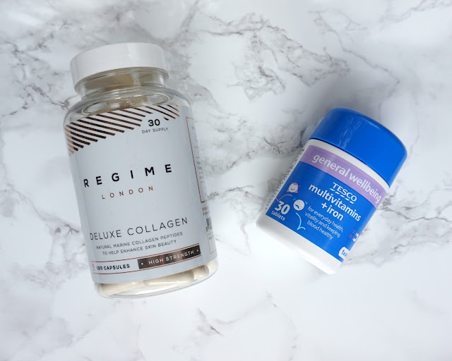 blogger, fitness blogger, health blogger, regime london, deluxe collagen, tesco, multivitamins, wellbeing, hanrosewilliams, hannah rose, review, fitness, blogger