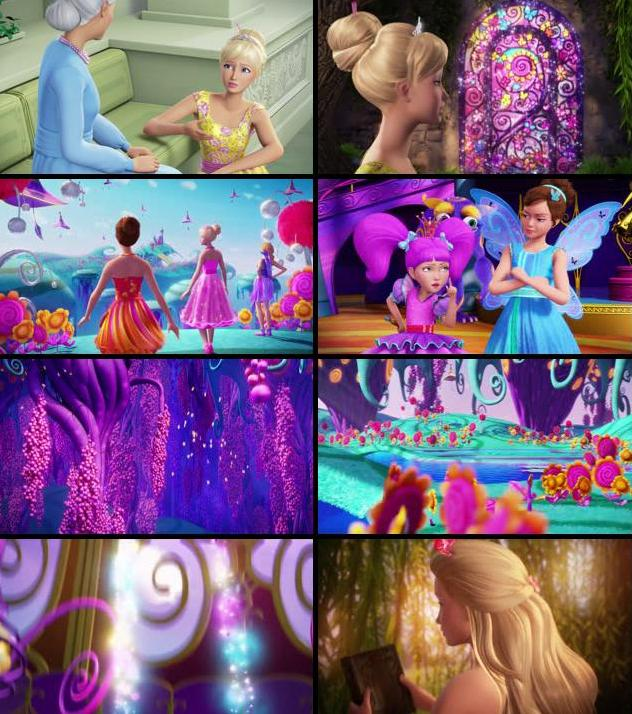 Barbie And The Secret Door 2014 Dual Audio Hindi 720p BluRay