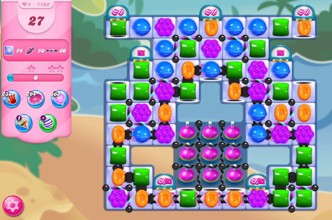 Candy Crush Saga level 7782