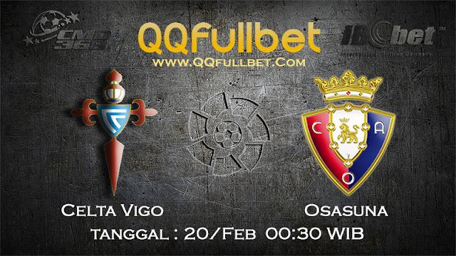 PREDIKSIBOLA - PREDIKSI TARUHAN CELTA VIGO VS OSASUNA 20 FEBRUARY 2017 (LA LIGA SPANYOL)