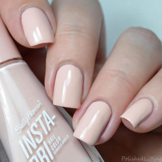 nude creme nail polish