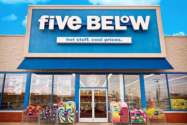 Loja Five Below em Miami: tudo por até 5 dólares