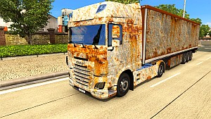DAF Euro 6 RUST pack