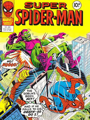 Super Spider-Man #289, the Green Goblin