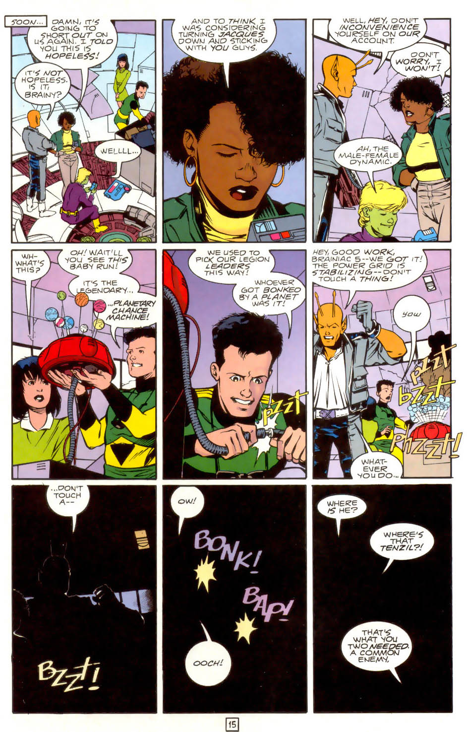 Legion of Super-Heroes (1989) 41 Page 15
