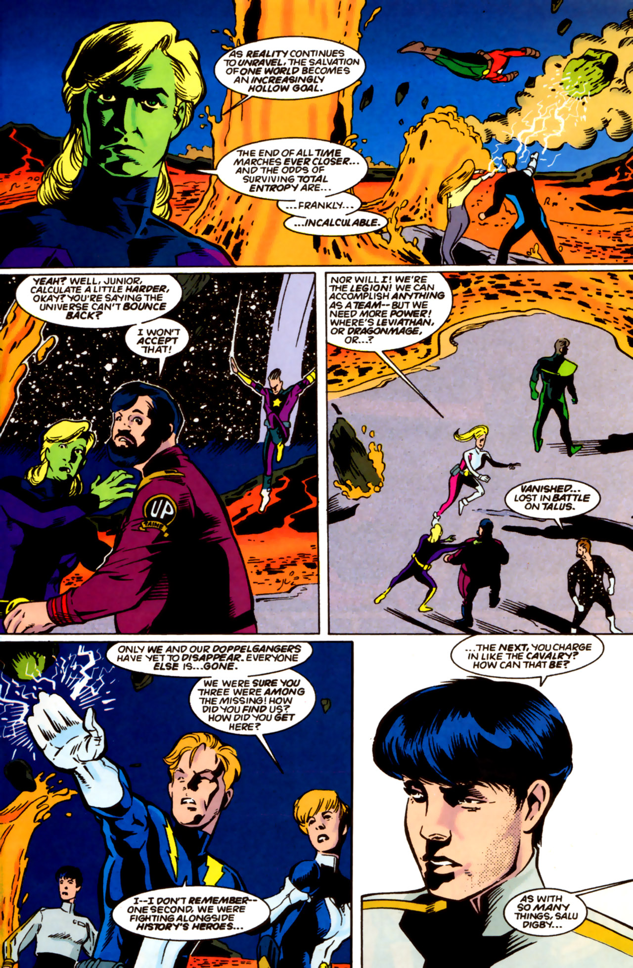 Legion of Super-Heroes (1989) 61 Page 5