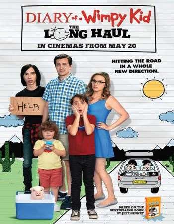 Diary of a Wimpy Kid The Long Haul 2017 Hindi ORG Dual Audio 130MB BluRay HEVC 480p ESubs