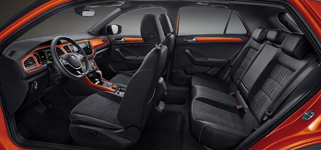 VW apresenta o T-Roc chinês com entre-eixos alongado