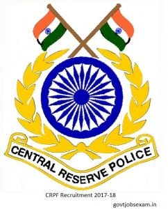 CRPF Recruitment 2018-2019