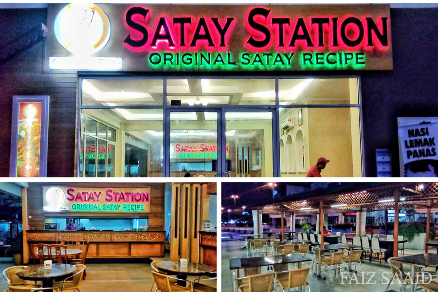 tempat cantik satay station