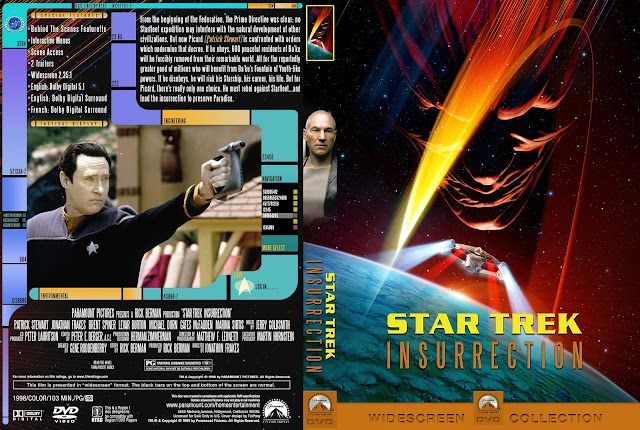 Capa DVD Star Trek Insurrection