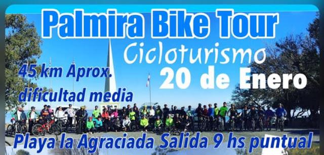 MTB - 45k Palmira Bike Tour (playa La Agraciada - Soriano, 20/ene/2018)