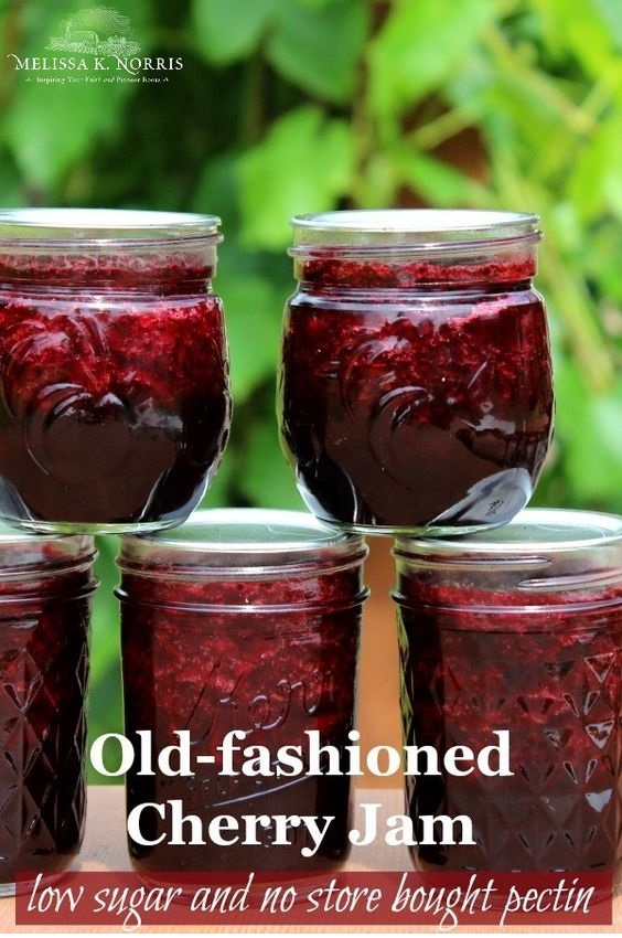 Cherry Jam Recipe Without Pectin And Low Sugar
